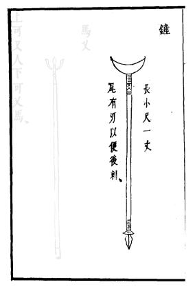 Ming Era Crescent Moon Spade