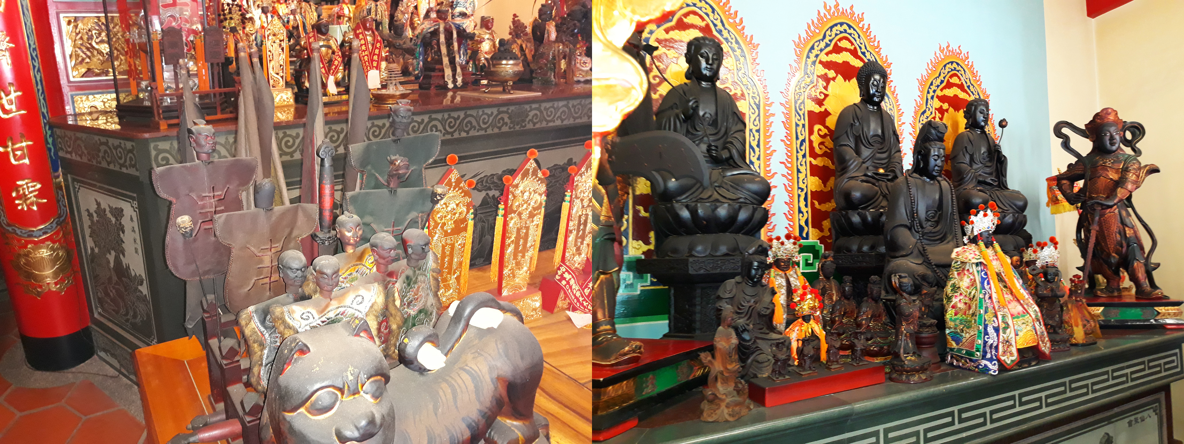 Soldiers and Guanyin