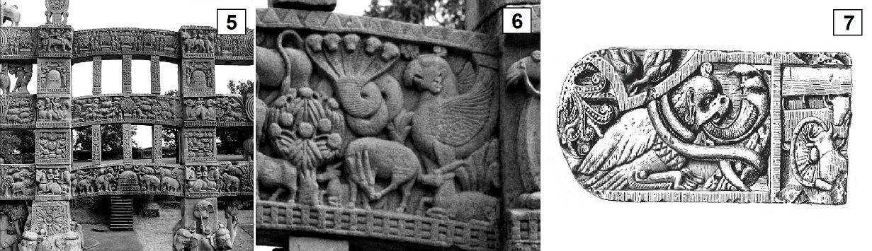 Stupa details