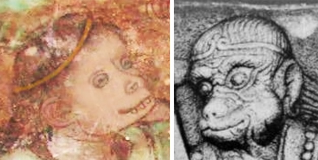 Eastern Thousand Buddha Cave no. 2 and Yulin Cave no. 3 - Heads