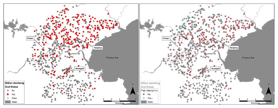 Fujian Sun Wukong and Zhu Bajie Temple overlay Map - small