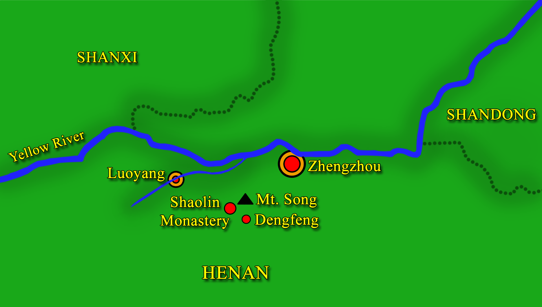 Shaolin map