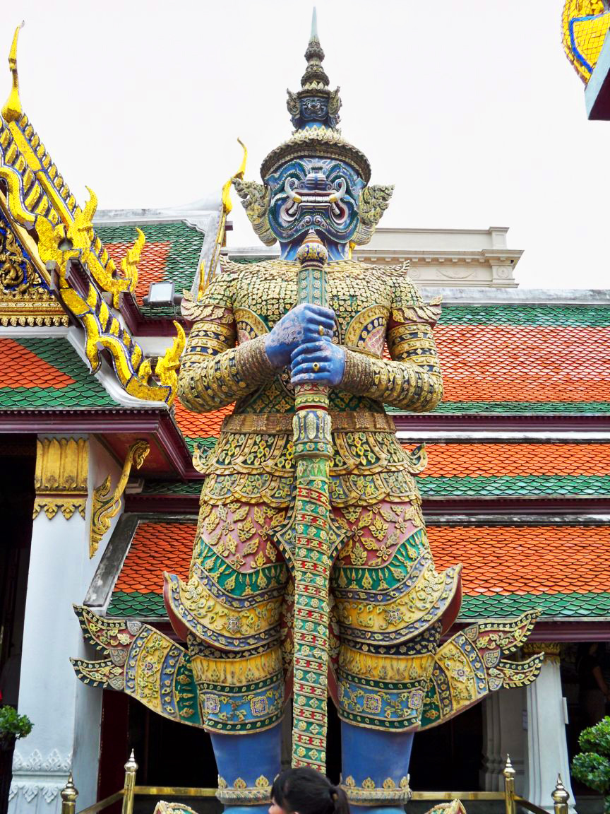 yaksha guardian, bangkok, thailand