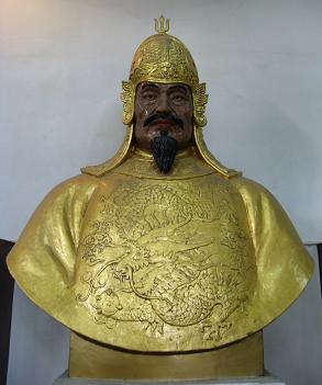 Qi Jiguang statue (Fuzhou) - small