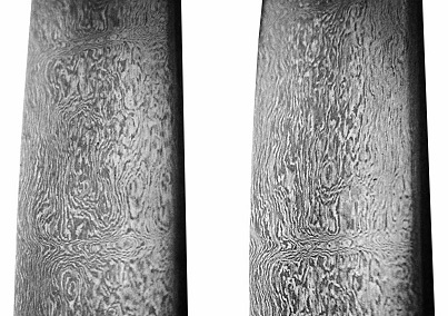 13th-century Persian Damascus blades (detail) - small