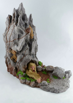Sun Wukong trapped under mountain - In Flames toy - small