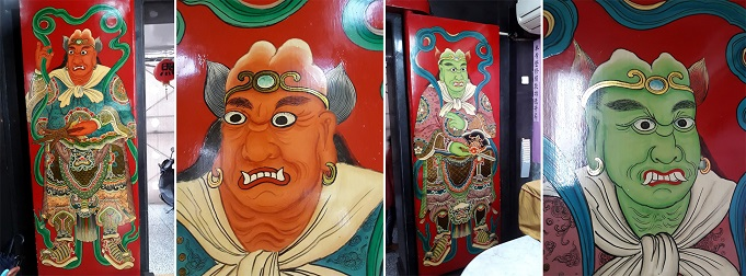 Thousand-Mile Eye and Fair-Wind Ear (Puji Temple, Taipei) - For Article - small